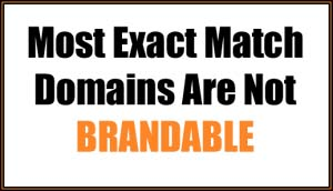 most emds are not brandable