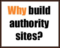 why build authority sites